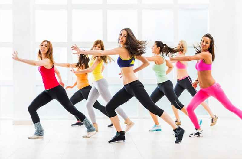 Aulas de Fit Dance